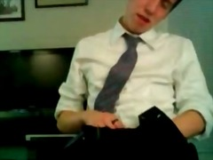 Alpha Porno Movie:Preppy twink cutie masturbates...