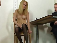 Secretary's dirty job ... video