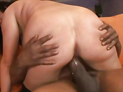interracial, brunette, ass, cock,
