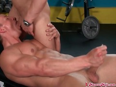 masturbation, muscular, blowjob