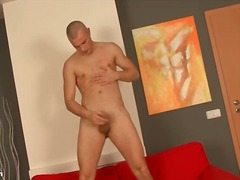 Alpha Porno Movie:His young dick cums in jerk of...