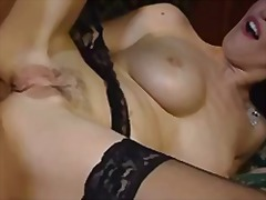 Sexy milf anal video