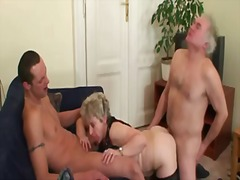Thumb: Hot threesome orgy aft...