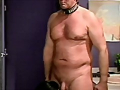 Xhamster Movie:Guy bound and balls clamped