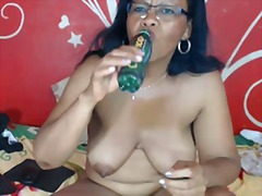 mature, granny, black, ebony