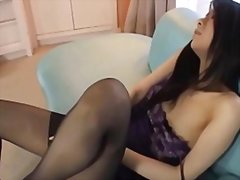 Girl with stockings ma...