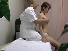 Dirty masseur fucking Chinese cunt on the voyeur camera dvd 16