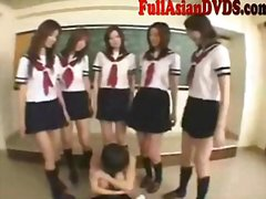 Redtube Movie:Asian school grils play in cla...