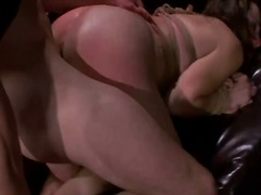 Submissive rope tied m... video