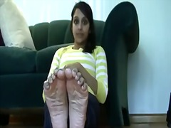 Indian teen with smell... video