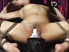 Thumb: Sexy girl is tied up a...