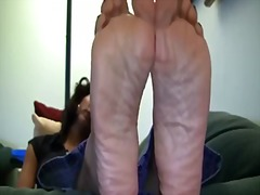 Xhamster Movie:Ebony mature has wrinkly soles