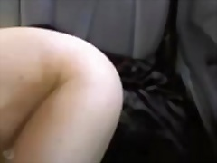 See: flashing in her car