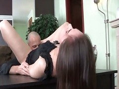 See: Brunette invites him t...