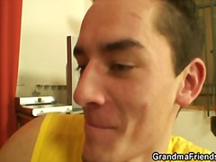 Xhamster Movie:Two young dudes share mature p...