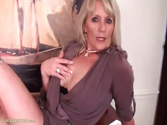 Seductive mature in a ... video