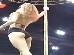 Thumb: Women in bikinis pole ...