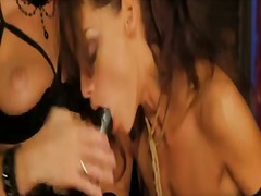 Blonde kathia nobili cant wait to be tongue fucked her lesbian girlfriends sophie lynx