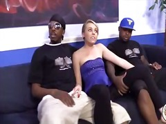 Thumb: Blonde teen fucks blac...