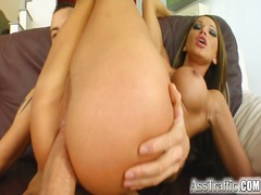 Kristina bella gets that monster cock in her ass