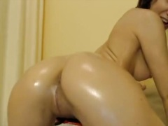 Private Home Clips Movie:Slap that moist gazoo hottie