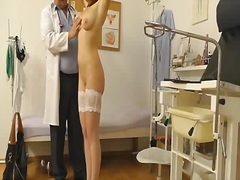 A spy web camera in gyno e... - 05:41