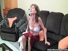 hairy, fingering, mature, granny, milf, finger,