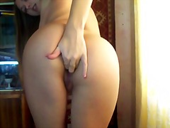 See: Caresses pussy on webcam