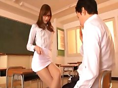 Sexy perverted asian teach... - 07:00