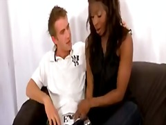 Black chick fucked by ...