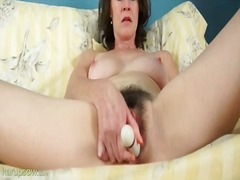 veronica snow,  milf, hairy, masturbation, tits,