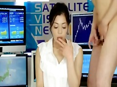 Japanese newsreader video