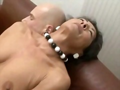 Hairy granny mature th...