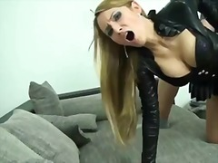 Xhamster Movie:Hot blonde fuck in pantyhose