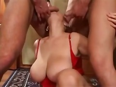 mature, threesome, tits