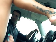 Driving miss squirtsy video