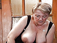 Blond granny r20 video