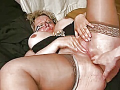 Xhamster Movie:Anal dreamfuck with granny