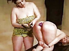 Thumb: Lesbian whipping canin...