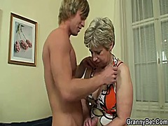 Oldie gets nailed by a...