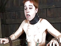 Thumb: Lusty facial torture f...