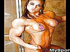 Muscled athletic gfs! video