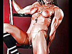 Redtube Movie:Muscled athletic gfs!