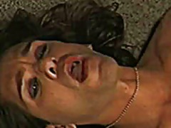 Brunette with pumped t... video
