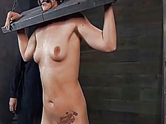 Thumb: Torturing a petite swe...