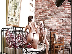 PinkRod Movie:Cindy dollar and silvia saint ...