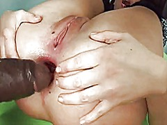 Extrem interracial anal 2 video