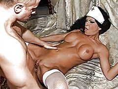 Sexy hot mature anal cute brunet milf