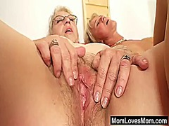 Big-titted gramma pene... video