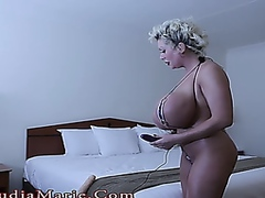 country milf using a s... - Vporn